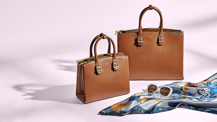 Aspinal of London for Her The best of British design: Aspinal of London make timeless, premium accessories including leather handbags, purses and passport holders.