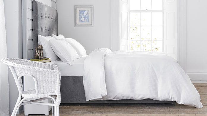 Fresh White Linens Wake up in crisp white sheets and luxuriate in soft cotton towels with our collection of classic and fresh white linens.