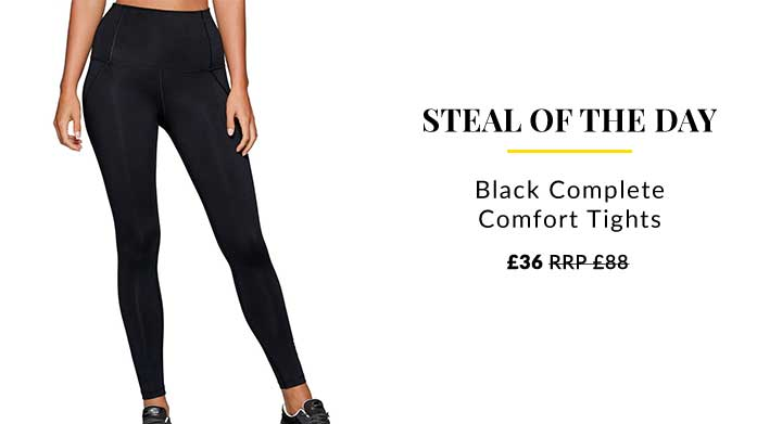 Steal of the Day: Activewear Leggings Take your home workouts to the next level in a pair of Lorna Jane comfort tights.