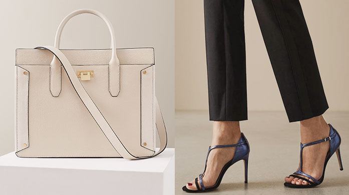 Reiss Accessories & Footwear Head-to-toe Reiss style isn't complete without a chic handbag, pair of leather sneaker or strappy sandals from this new selection.