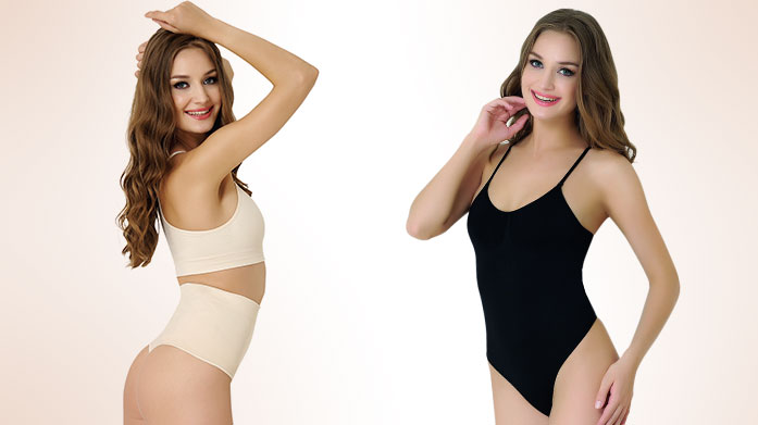 Shaping Solutions Feel fabulous in figure enhancing shapewear by Formeasy. Choose from bodysuits, briefs and more for your most confident look yet.