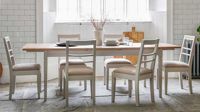 Summer Farmhouse Furniture Create a rustic farmhouse feel in your home with fantastic furniture inspired by the British countryside. Choose from tables, chairs and more!