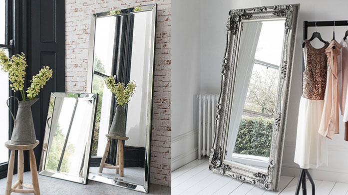 Gallery Mirrors Wave goodbye to bare walls with our collection of Gallery mirrors, from the popular Carved Louis Leaner to a range of contemporary wall mirrors.