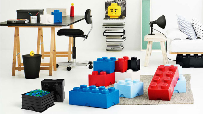 LEGO Storage Encourage the kids to tidy up after playtime with these fun, stackable storage boxes from Lego. Shop Lego heads, brick drawers and more!