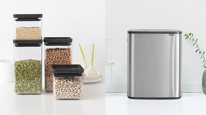 Brabantia Our new collection from Brabantia features space-efficient kitchen and laundry bins and laundry accessories that are both stylish and functional.