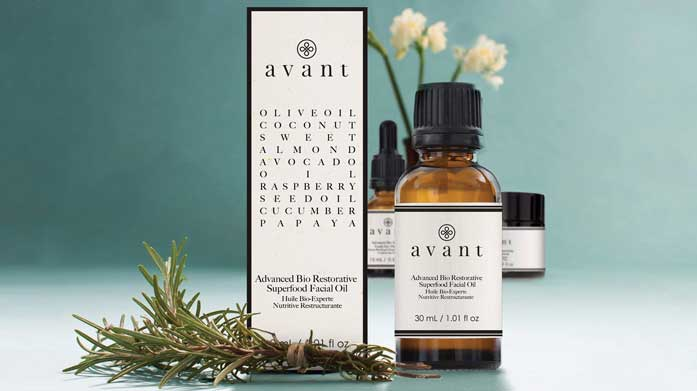 Avant Anti-Ageing Skincare  Avant uses only the finest, scientifically tested ingredients together with natural oils, helping to nourish, hydrate and rejuvenate the skin.