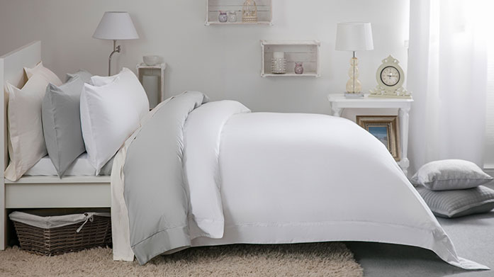 400TC Egyptian Cotton Linen Our latest Belledorm linens are crafted with long-staple 400 thread count Egyptian cotton, for a sumptuous, luxe feel in bed.