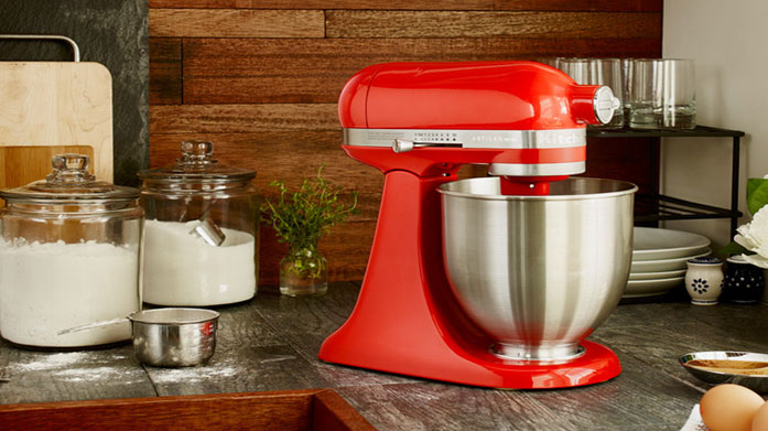 KitchenAid Electricals Kit out your whole kitchen with KitchenAid's stylish range of artisan mixers, coffee machines, blenders and toasters.
