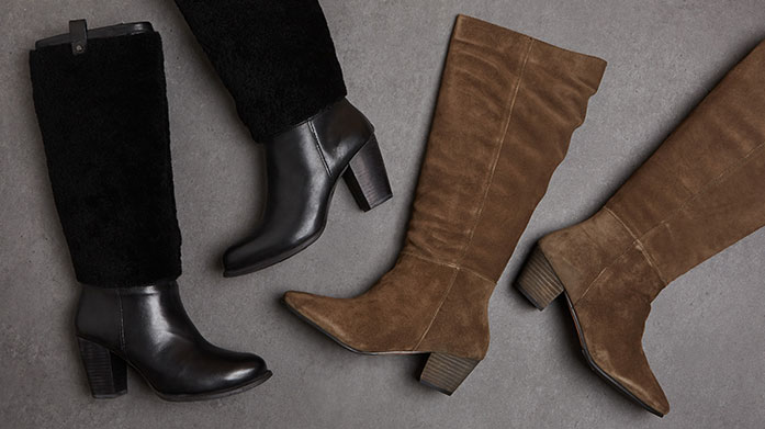 Knee Deep in Boots Shop our curated edit of flat or heeled knee high boots by Carvela, Dune London, ALDO and L.K. Bennett, perfect for your stylish winter looks.