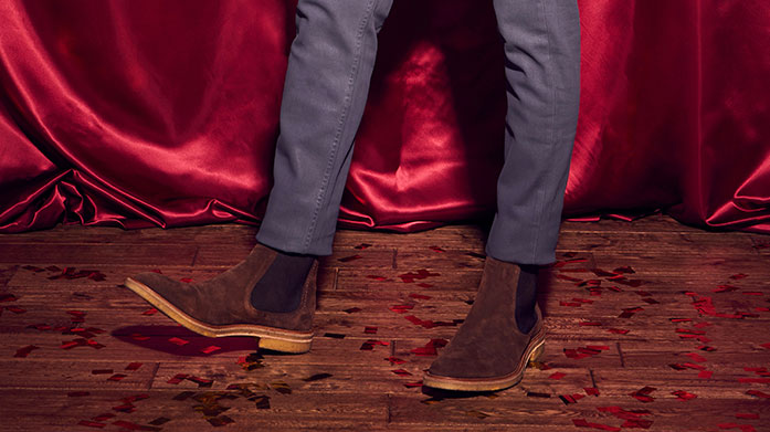 Celebration Shoes for Him Step into the celebrations wearing a classically stylish pair of shoes by Oliver Sweeney, John White, Kurt Geiger or Dune London.