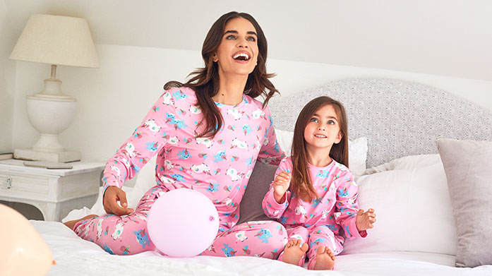 Last Minute Nightwear & Sock Gifts New York label Chelsea Peers keeps it cute with fun nightwear and loungewear for women. Did some say pyjama party?