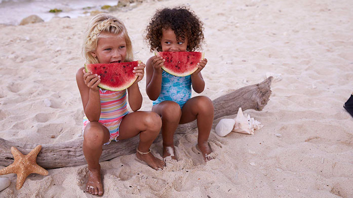 Sunuva Kids Safeguard your littles ones on your winter sun holiday in UV protective swimwear and clothing by Sunuva. Shop colourful prints for boys and girls!