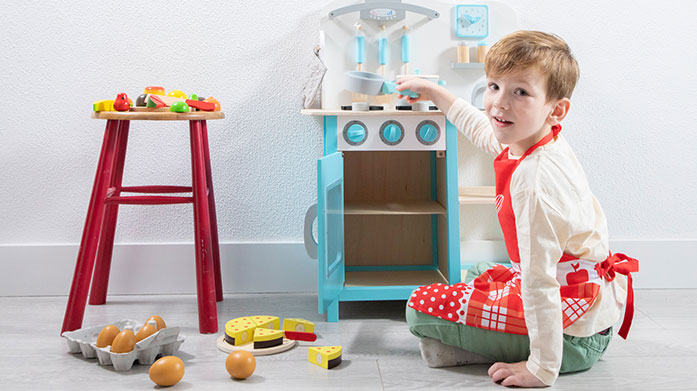 New Classic Toys Colourful toys designed to capture little imaginations. Discover everything from cooking playsets and kitchens to puzzles and instruments.