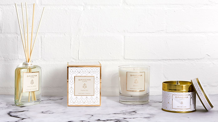 Heavenly Home Fragrance New copy: From fragrant scented candles to fresh scented diffusers, uplift your home with a most-wanted piece from Bahoma, Scandinavisk, Parks London and more