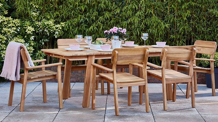 Last Chance Clearance Furniture by Frosts Don't miss out on garden furniture clearance sale for outdoor tables and chairs, luxe lounging sets and wooden benches.