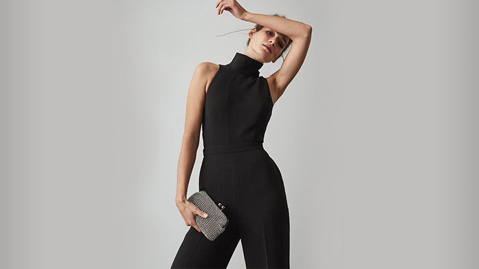 Reiss Womenswear For when your outfit needs to be extra special, look to Reiss for stand-out dresses, tailored jumpsuits and formal separates. Dresses from £29.