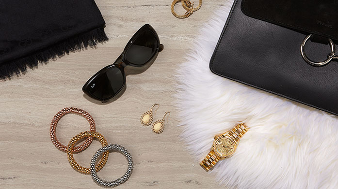 Fine Treats for Her  Discover the finest treats and choose yourself, or a loved one, a statement gift from this edit of big branded designer accessories.