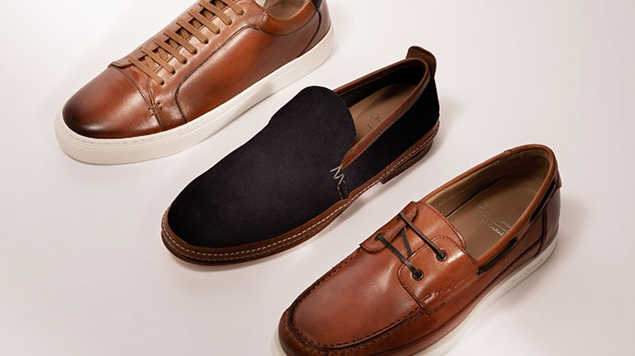 Must Have Shoes for Him Discover the must-have men's shoes you need this season: leather sandals, suede sneakers and casual loafers from the hottest brands.