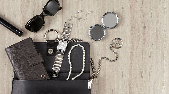 Spice Up Your Outfit  Spice up your outfit with these classic sunglasses, jewellery picks and designer handbags by Givenchy, Chloe, Amrita Singh and Stella McCartney.