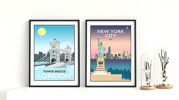 Tabitha Mary Framed Prints Tabitha Mary takes inspiration from old railway posters to bring to life beautiful framed prints. Escape to the county or further afield...