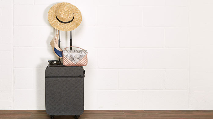 The Essential Suitcase Whenever your holiday is, always be ready with slick and stylish suitcases in a variety of designs and sizes.