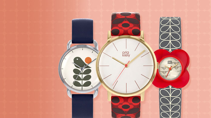 Orla Kiely Jewellery & Watches Orla Kiely's distinct design and print aesthetic come to life in her collection of women's watches.