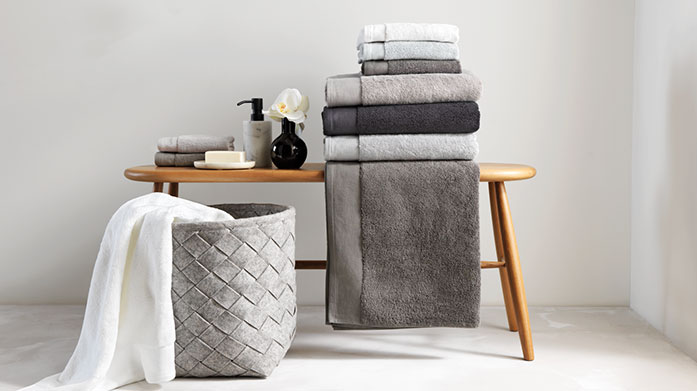 Sheridan Towels Wonderfully soft cotton towels from Sheridan are the perfect finishing touch to your bathroom. Shop bath sheets, mats and hand towels.