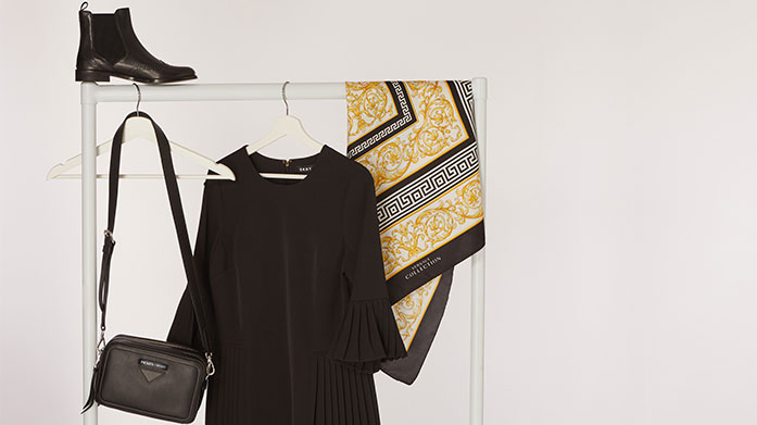 Workwear Wardrobe For Her Power dress at the office in a sharp tailored suit, fitted separates and smart accessories from Hobbs, Boden, Mint Velvet and No. Eleven.