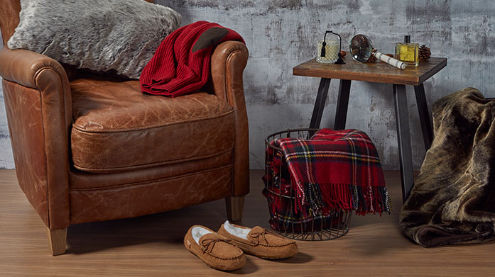 Perfect Slipper Gifting for Him The perfect gift for any man: a soft pair of cosy slippers from UGG, Fenlands, Ted Baker or Oliver Sweeney.