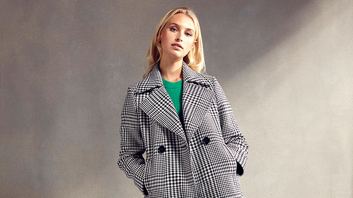 Grace & Oliver Grace & Oliver's winter coats are classic, versatile and uber-stylish. Shop wool utility coats, faux fur jackets and animal print coats.