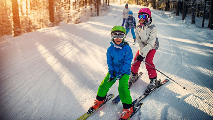 Mini Ski & Snow Kit out the kids with new skiwear from our mini snow edit, featuring ski jackets, baselayers and thermal accessories from the outdoor masters.