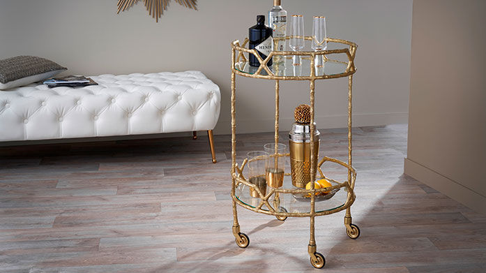 Guest Ready Cocktail Soiree Be ready to serve this Christmas! Discover our collection of coffee tables, bar carts and console tables that are so good your guests won't want to leave!