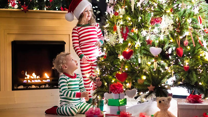 Santa's Favourites Get the kids something they'll love this Christmas with a brand new pair of pyjamas, slippers, wooden puzzle or pair of new booties!