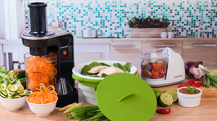 Healthy Eating Kickstart Kickstart your healthy eating plan and get motivated to meal prep with our new collection of kitchen essentials and electricals.