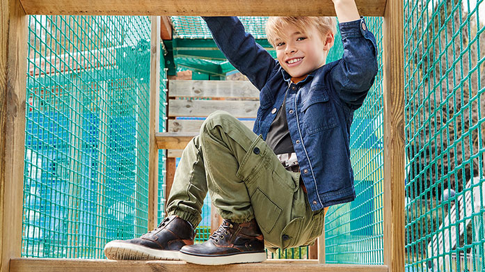 New Geox Kids Watch them walk with a spring in their step wearing a pair of Geox kids' shoes from our new collection. Shop casual footwear for boys and girls.