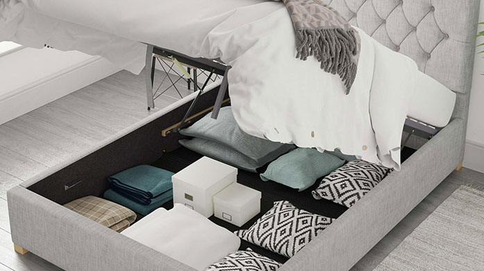 Olivier & Pimlico Bed Collections Shop quality upholstered ottoman storage beds from the Olivier and Pimlico collections, available in a range of luxe designs.