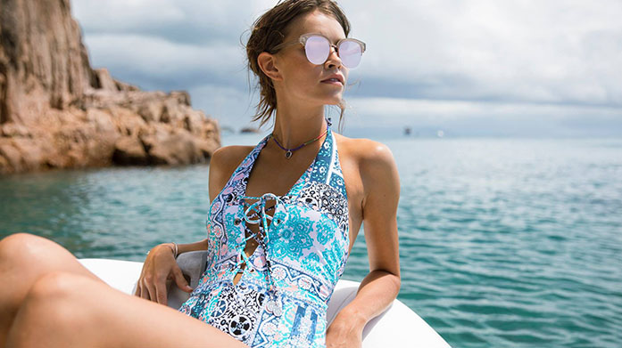 Seafolly Escape the cold and seek winter sun abroad with Seafolly's designer swimwear and beachwear. Shop swimsuits, bikinis and kaftans.