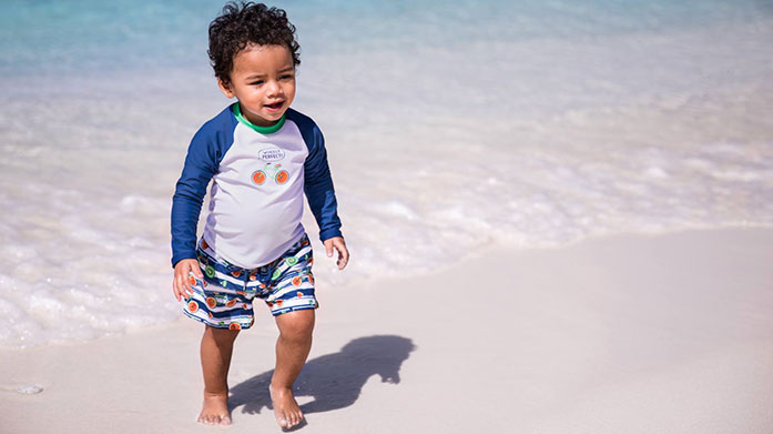 Sunuva Kids Swimwear Safeguard your littles ones on your winter sun holiday in UV protective swimwear and clothing by Sunuva. Shop colourful prints for boys and girls!