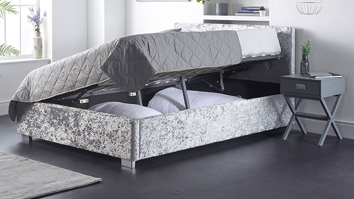 Best of our Ottoman Beds Both compact and stylish, these bedframes will add a touch of luxe to your bedroom and solve all your storage needs in one!