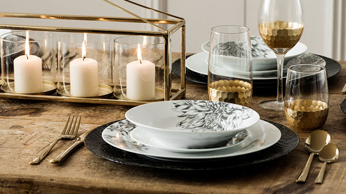 Dining Clearance Whether entertaining in style or eating in for one, our dining essentials will guarantee fabulous fine dining at home.