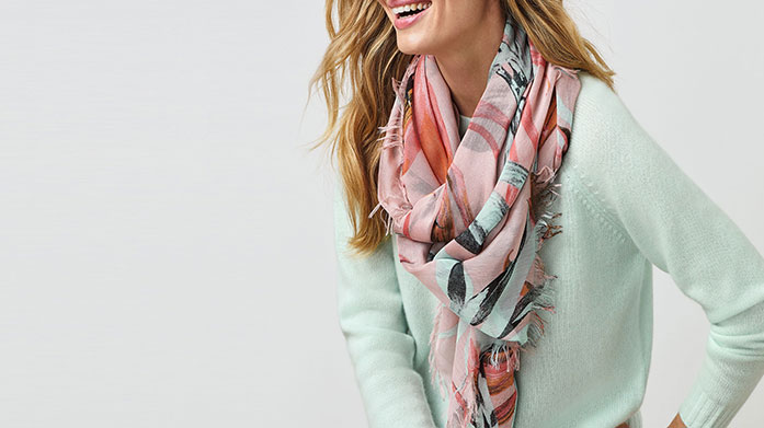 Pure Collection Accessories Complete your summer look with a beautifully soft scarf, courtesy of Pure Collection. There's a style for every occasion.