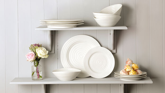 Buyer's Pick: Sophie Conran Dinner Service  From Sophie Conrad's award winning collection, this 12 piece dinner set is durable and timeless. Perfect for your next dinner party!