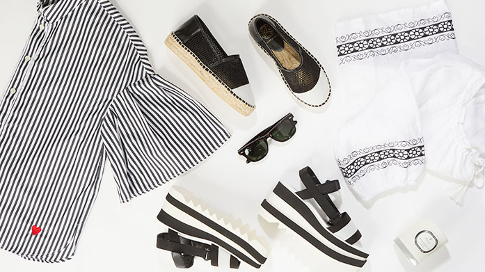 Summer Black  Embrace the latest summer trend and dress in a chic black ensemble with top picks from this curated edit. Shop dresses, jeans, bags and more!
