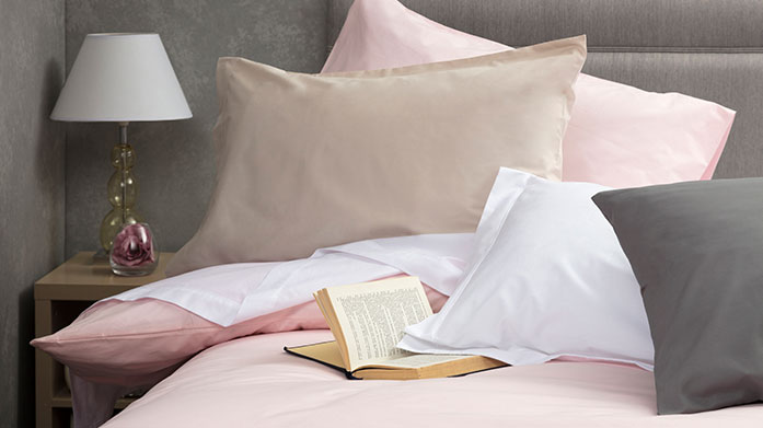 Between The Sheets Luxury bedding from Belledorm you'll never want to leave! Shop fitted sheets, flat sheets, Oxford pillowcases and more.