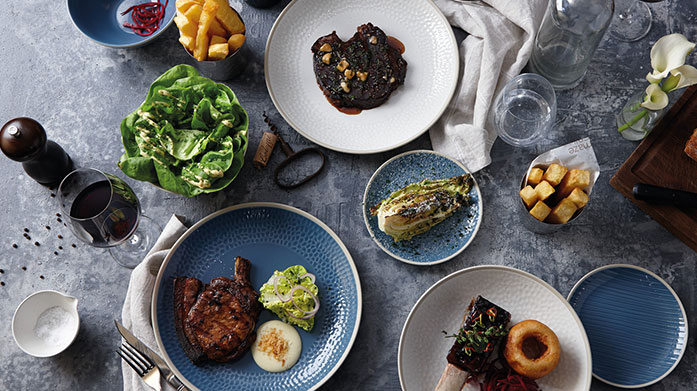 Gordon Ramsay Tableware Dine in style with Gordon Ramsay homeware by Royal Doulton. Shop serving bowls, textured mugs and dinnersets.