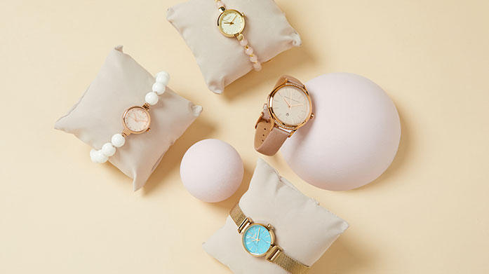Lola Rose Watches Classic, feminine Lola Rose watches are made special by their vibrant pop of colour and semi-precious gemstone detail.
