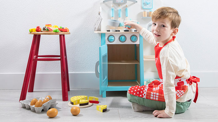 New Classic Toys Colourful toys designed to capture little imaginations. Discover everything from cooking playsets and kitchens to wooden puzzles and instruments.