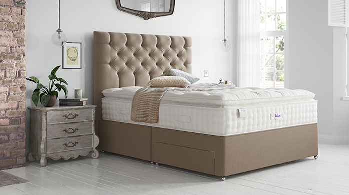 Relyon: Handcrafted Collection Enjoy luxurious comfort in a haute couture form factor in this range of single, double, king and super king mattresses.