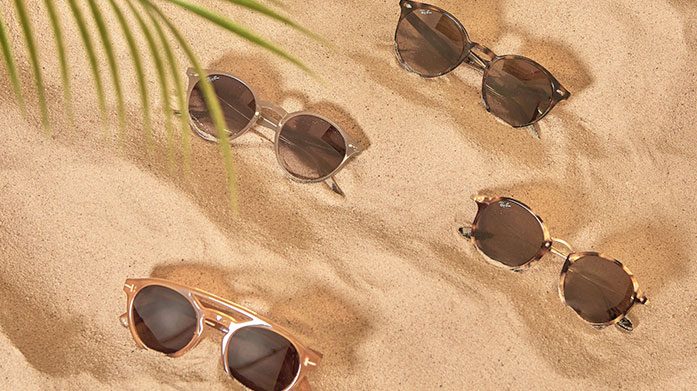 Summertime Sunglasses for Him Shop brand new summertime sunglasses from our men's edit of designer shades by Prada, Dior, Ray-Ban, Fendi and Saint Laurent.