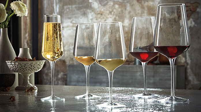 Crystal Glass Under £50 Toast to your next occasion with beautiful crystal glassware including tumblers, wine and gin glasses and champagne flutes.